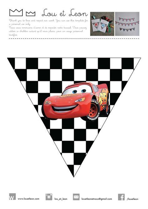 banderines de rayo mcqueen 282 best c a r s disney images on pinterest car party