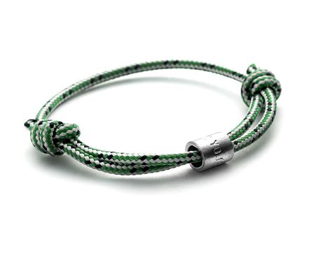 bead bracelets for guys personalised s rope bead bracelet by chambers beau