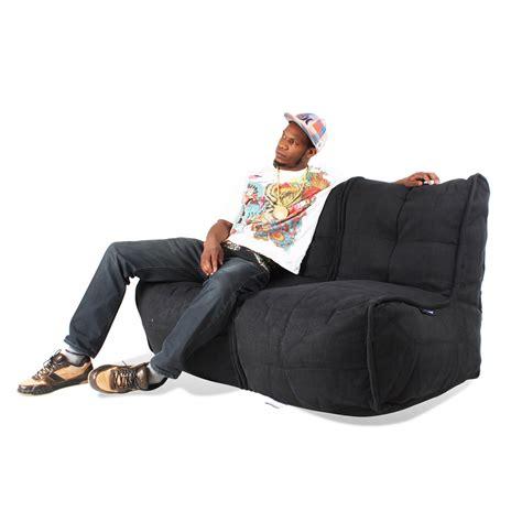 double bean bag sofa 2 seater bean bag sofa 2 seater sofa designer bean bag