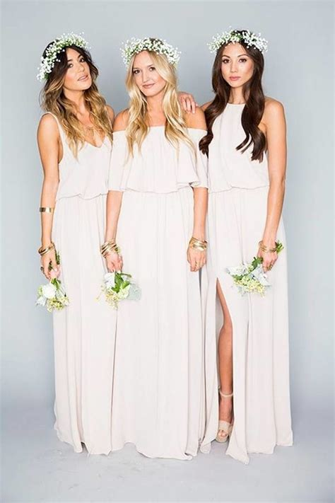 White Bridesmaid Dress by White Bridesmaid Dresses Mywedding