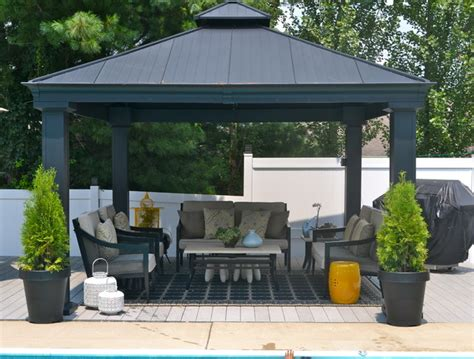 gazebo contemporary patio other