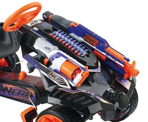 nerf battle racer das nerf battle racer go kart f 252 r mladen dennis und benni