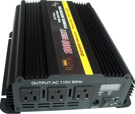 1000 watt sine dcac power inverter 12v to 120v