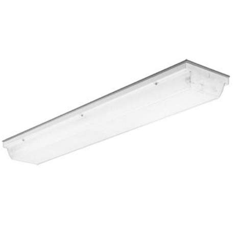 Vandal Proof Lighting Fixtures Lithonia Lighting Vsl Series 2 Light Unpainted With Beige Fluorescent Vandal Resistant Linear