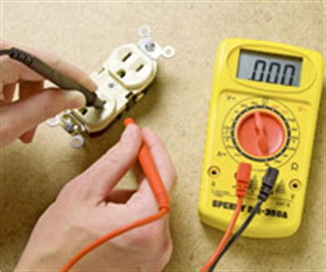testing a receptacle how to install a switch or