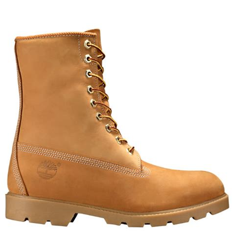 mens 8 inch boots timberland s 8 inch basic waterproof boots w padded