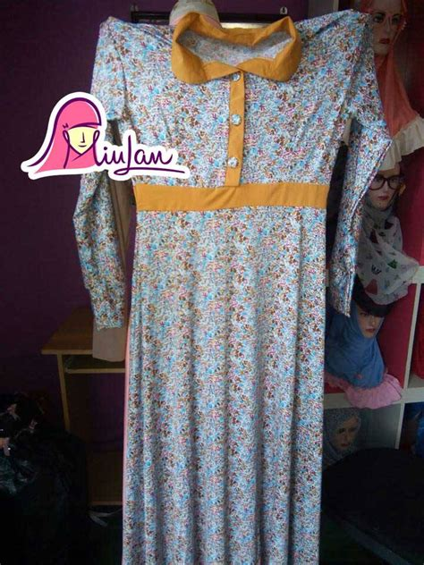 Termurah Gamis Syari Maudy Bw Harga Baju Gamis Baju Gamis Batik baju muslim modern model terbaru