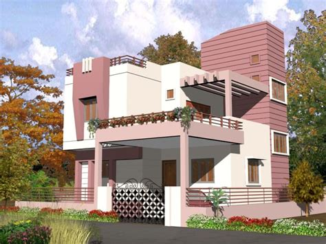 Exterior Home Design For Small House In India Architectural Home Design By Shashank S Sherkar