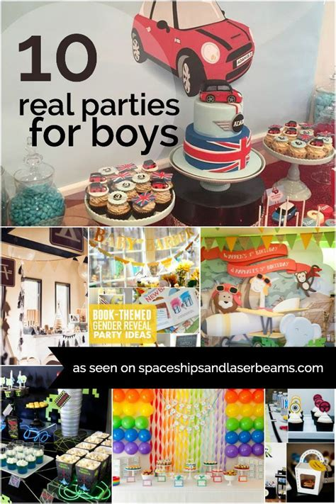 birthday themes with one 10 real parties for boys birthdays boys and boy birthday