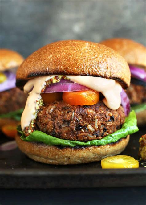 15 mouth watering veggie burger recipes hello glow
