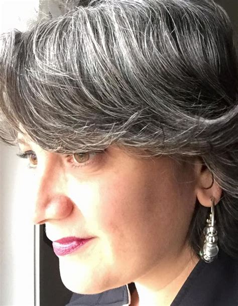 gray hair transition pictures 542 best images about stunning silvers on pinterest hair