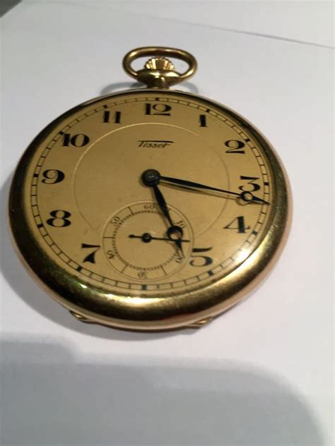 tissot montre a gousset homme annees 1950 60 catawiki