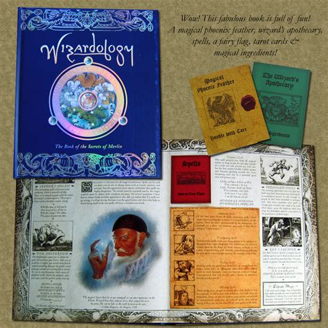 pictures of the book wizardology the book of the secrets of merlin