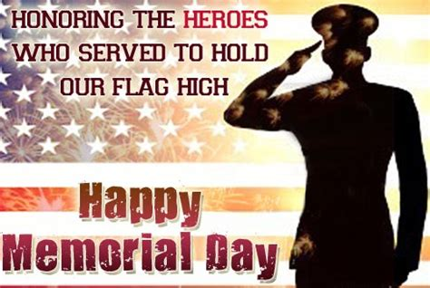 Memorial Day Honors Those Who Died In Service To Our Country by Memorial Day