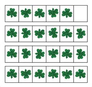 template of shamrock sle shamrock 8 documents in pdf word