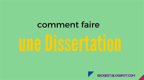 comment faire une dissertation comment faire une dissertation ekogest 233 conomie gestion