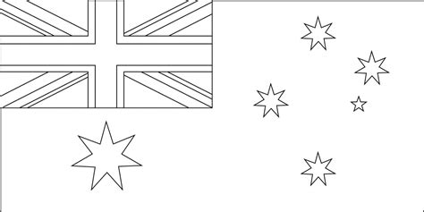 australian flag colour in colouring in young boys