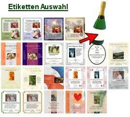 Flaschenetiketten Selber Gestalten Und Drucken Kostenlos by Flasche Wein Sekt Etiketten Selber Gestalten