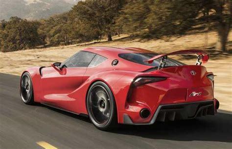 2017 Toyota Supra 2017 Toyota Supra Release Date Specs And Price 2017
