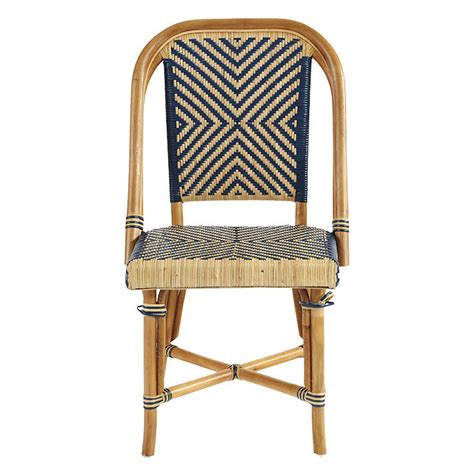 cafe chairs woven set of 2 bistro chairs ballard designs