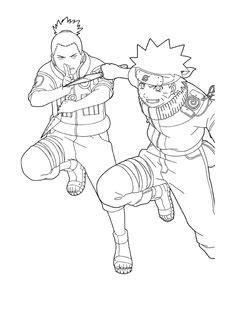 Naruto qui commence une invocation ninja | Naruto