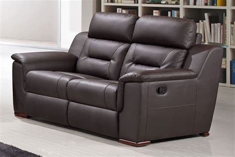 modern recliner sofa modern leather reclining sofa thesofa