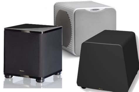 Best Small Home Theater Speakers 2015 12 Killer Compact Subwoofers Electronic House