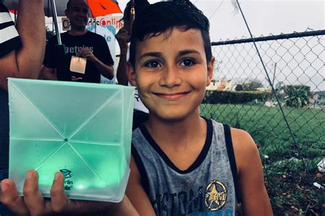 Pr Magdaleno hurricane relief and giving solar light to created by al magdaleno