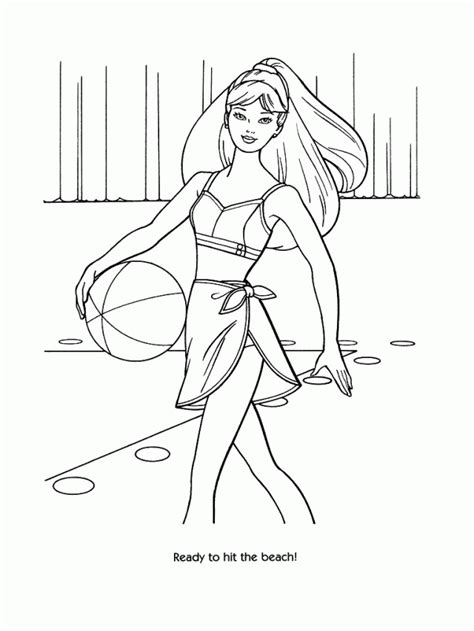 fashion model coloring pages coloring home
