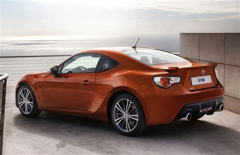 Toyota Sportscars Toyota Gt 86 Sports Car Officially Revealed In Production Form