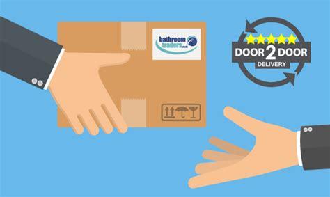 door to door delivery uk to bathroom store 500mm minimalistic turin unit