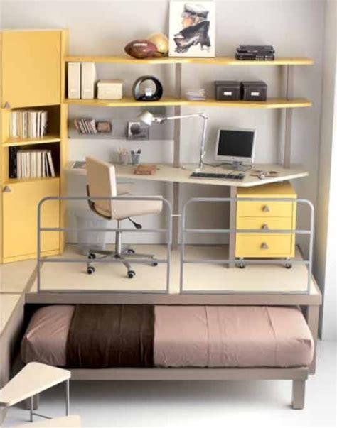 scrivania a soppalco cameretta doppia ufficio