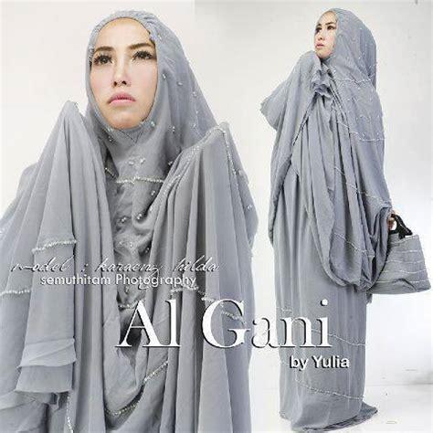 Mukena Al Gani Ruffle By Yulia 10 mukena al gani madina jual mukena al gani