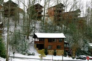 gatlinburg falls resort january 2014 snow