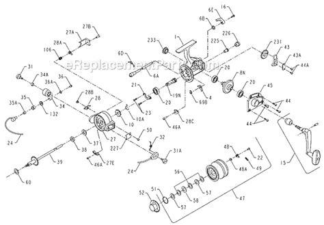 penn reel parts diagram penn 4500ss parts list and diagram ereplacementparts