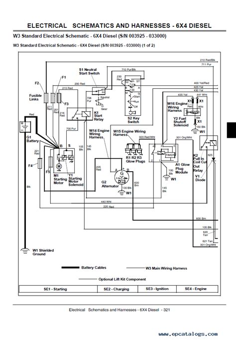 deere gator wire schematic deere wiring exles and