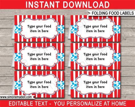 free printable birthday place cards template dr seuss food labels place cards dr seuss theme