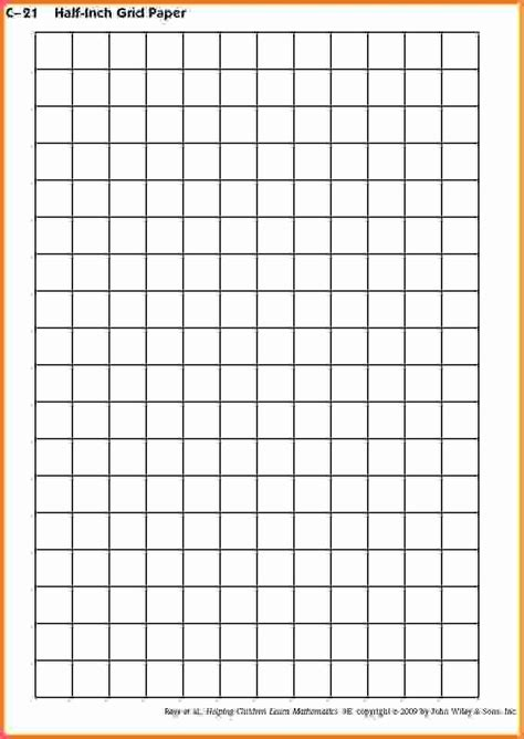 printable grid paper half inch grid paper to print free cartesian graph paper printable