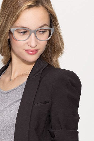 caroline matte gray plastic eyeglasses caroline matte gray plastic eyeglasses from eyebuydirect