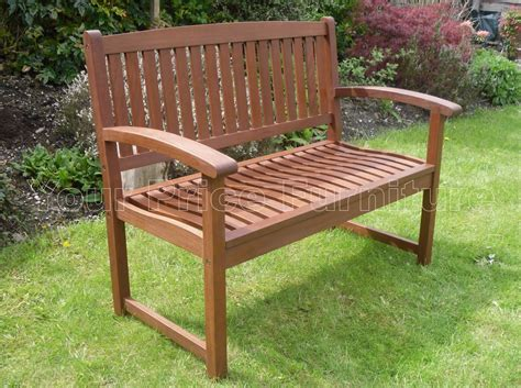 garden bench hardwood henley 2 seat hardwood garden bench 1 2 price sale now on
