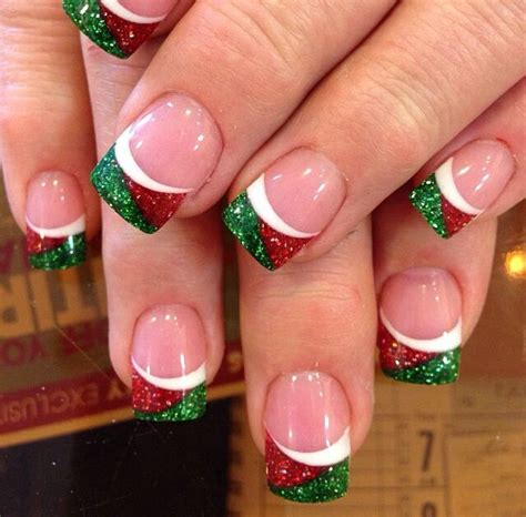 christmas decorated finger nails best nail designs pink lover