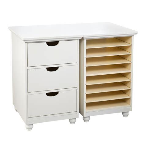 Anna Griffin Craft Room Furniture - anna griffin craft room paper bin storage organizer