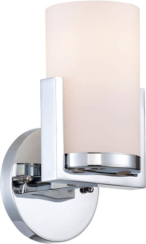 Modern Wall Ls by Lite Source Ls 16811 Caesarea Modern Chrome Wall Mounted