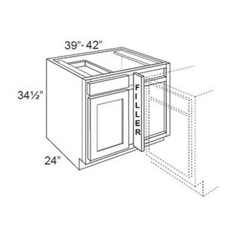 36 corner base cabinet dimensions bbrc39 42 36w espresso base blind corner cabinet kitchen