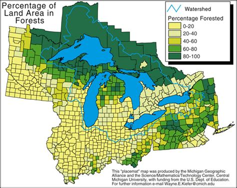 michigan state land map forestry