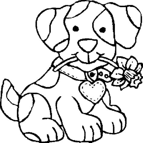 coloring pages dogs coloring pages free and printable