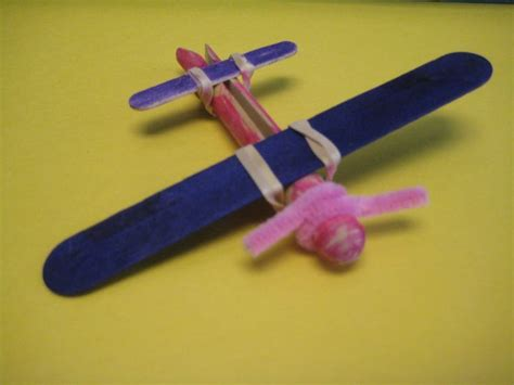 airplane craft projects clothespin airplane no glue 1st 3rd grade sky vbs