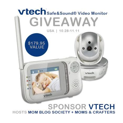 Vtech Giveaway - win a vtech safe sound video monitor us only ends 11 11