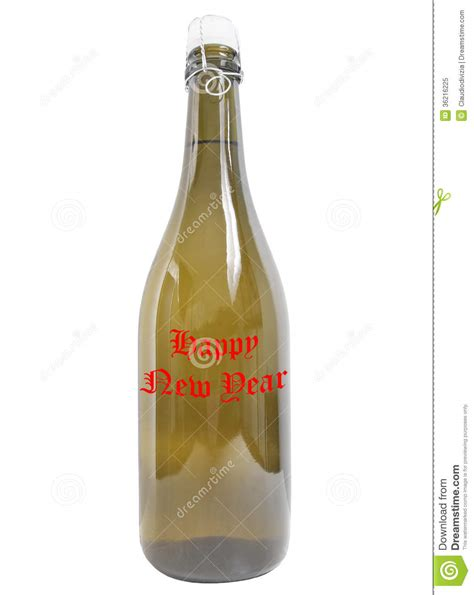 wine new year bottle of wine happy new year royalty free stock photo