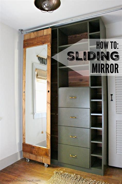 How To Build A Sliding Closet Door How To Build A Sliding Mirror Door